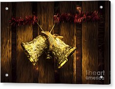 Bells Of Christmas Joy Acrylic Print
