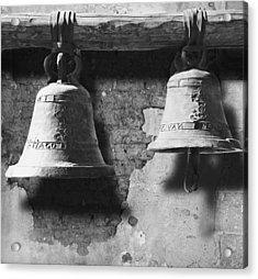 Bells Of San Juan Capistrano Acrylic Print by Larry Butterworth