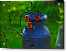 Acrylic Print featuring the photograph Bells by Rowana Ray