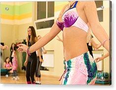Belly Dancing Class Acrylic Print by Nikita Buida