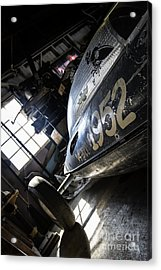 Belly Tanker - Old Crow Speed Shop- Metal And Speed Acrylic Print