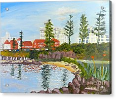 Belmore Basin From The North Sea Wall Acrylic Print