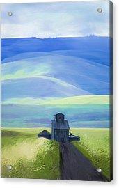 Below The Blues Acrylic Print by Dale Stillman