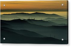 Below The Horizon Acrylic Print