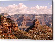 Below The Rim Acrylic Print