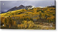 Below The Ruby Range Acrylic Print