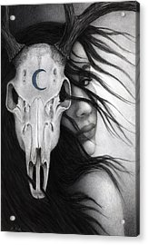 Acrylic Print featuring the painting Beltane by Pat Erickson