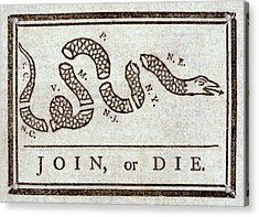 Ben Franklins Plea Acrylic Print