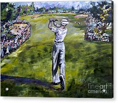 Ben Hogan Golf Painting Acrylic Print