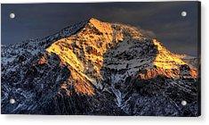 Ben Lomond Sunrise Acrylic Print