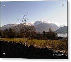 Ben Nevis Scotland Acrylic Print