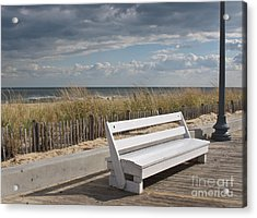 Bench Warmer Acrylic Print