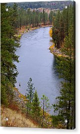 Bend In The River Acrylic Print