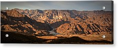 Bends Of The Colorado Acrylic Print