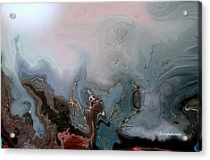Beneath The Beautiful Deep Sea Acrylic Print by Sherri  Of Palm Springs