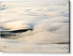 Beneath The Blanket Acrylic Print by Mike  Dawson