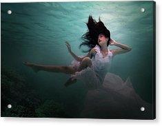 Beneath The Sea Acrylic Print by Martha Suherman