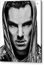 Benedict Cumberbatch Acrylic Print by Kayleigh Semeniuk