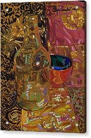 Acrylic Print featuring the digital art Benihana by Clyde Semler