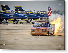 Bennie And The Jets Acrylic Print by Bradley Clay