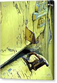 Acrylic Print featuring the photograph Bent by Newel Hunter