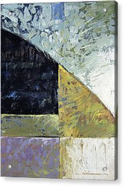 Bent On Abstraction Acrylic Print