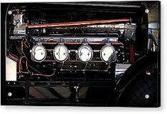 Bentley Engine Acrylic Print by Radoslav Nedelchev