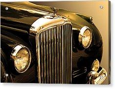 Bentley Logo Close Up  Acrylic Print by Radoslav Nedelchev