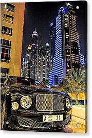 Bentley Mulsanne Acrylic Print by Graham Taylor