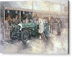 Bentley Old Number 7 Acrylic Print by Peter Miller