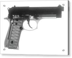 Beretta 9mm X-ray Photograph Acrylic Print