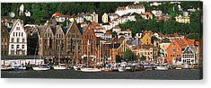 Bergen Norway Acrylic Print by Panoramic Images