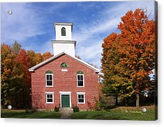 Berkshire Vermont Acrylic Print