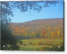 Berkshires Colors  Acrylic Print by Todd Breitling