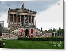 Berlin - National Gallery Acrylic Print by Gregory Dyer