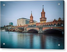 Berlin - Oberbaum Bridge Acrylic Print