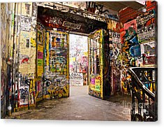 Berlin - The Kunsthaus Tacheles Acrylic Print by Luciano Mortula