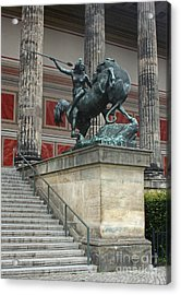Berlin - Altes Museum No.02 Acrylic Print by Gregory Dyer