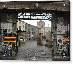 Berlin Architecture No.02 Acrylic Print by Gregory Dyer