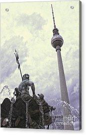 Berlin - Berliner Fernsehturm - Radio Tower No.04 Acrylic Print by Gregory Dyer