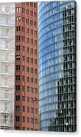 Berlin Buildings Detail Acrylic Print by Matthias Hauser