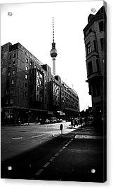 Berlin Bw Acrylic Print by Falko Follert