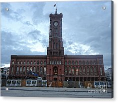Berlin - City Hall Acrylic Print by Gregory Dyer