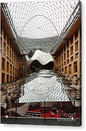 Berlin - Dz Bank Building - Frank Gehry Acrylic Print by Gregory Dyer
