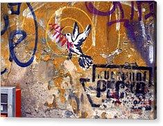 Berlin Graffiti Acrylic Print