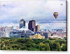 Berlin - Potsdamer Platz Acrylic Print by Gynt