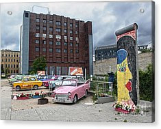 Berlin - Trabi Safari - No.01 Acrylic Print by Gregory Dyer