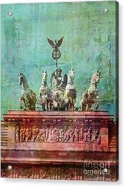 Berlin Vintage Acrylic Print