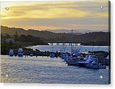 Bermagui River Sunset Acrylic Print