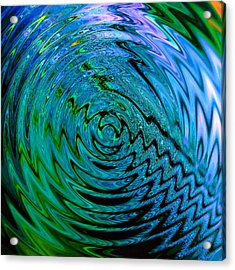 Bermuda Blue Acrylic Print by Michael Durst